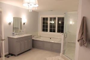 His Vanity Master Bathroom